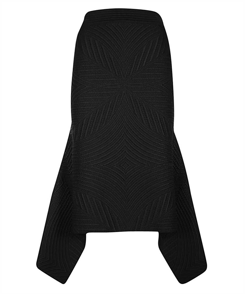 Alexander McQueen 641897 Q1ARO QUILTED KNIT Skirt 1