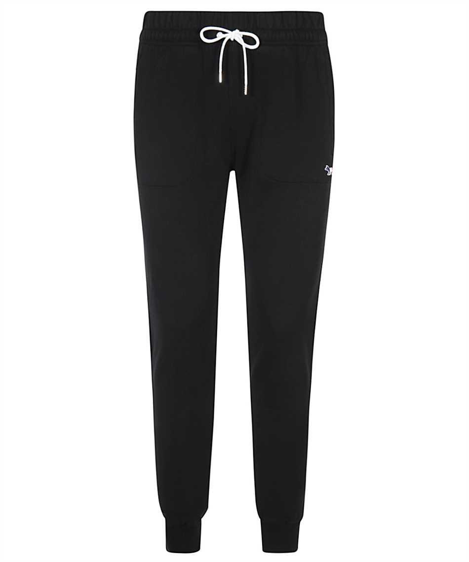 Maison Kitsune AM01300KM0001 FOX PATCH CLASSIC JOG Trousers 1