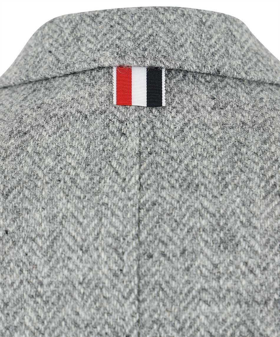 Thom Browne FBC334V 02508 HERRINGBONE HARRIS TWEED Jacket 3