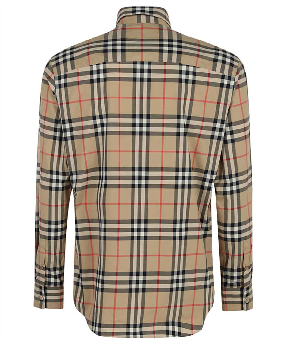 Burberry 8020863 CHECK COTTON POPLIN Shirt 2
