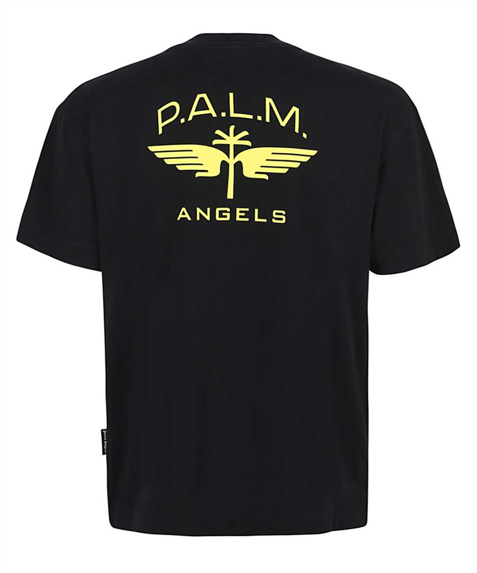 Palm Angels PMAA001S21JER011 MILITARY WINGS CLASSIC T-shirt 2