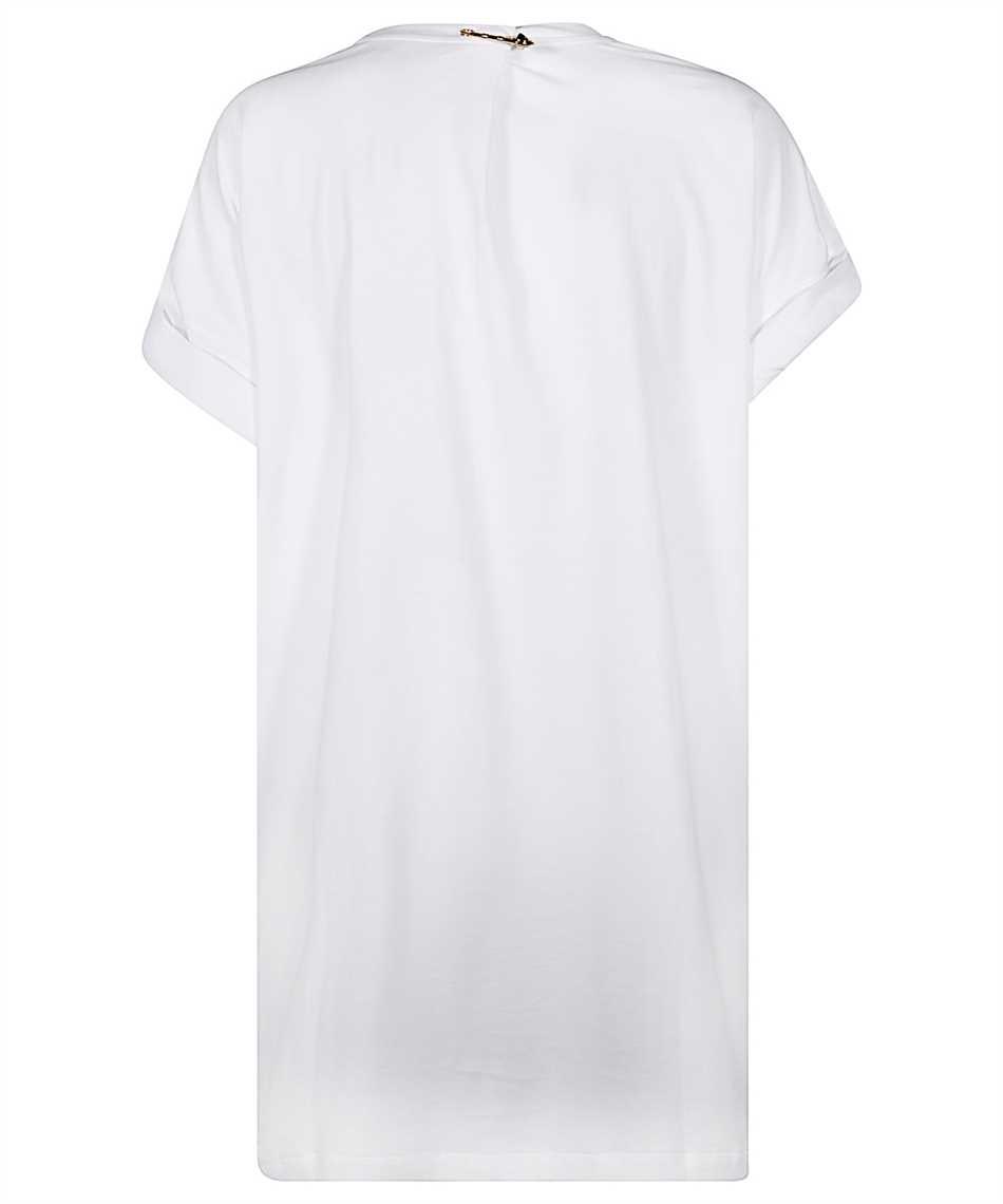 Versace A87453 A228806 MEDUSA SAFETY PIN T-Shirt 2