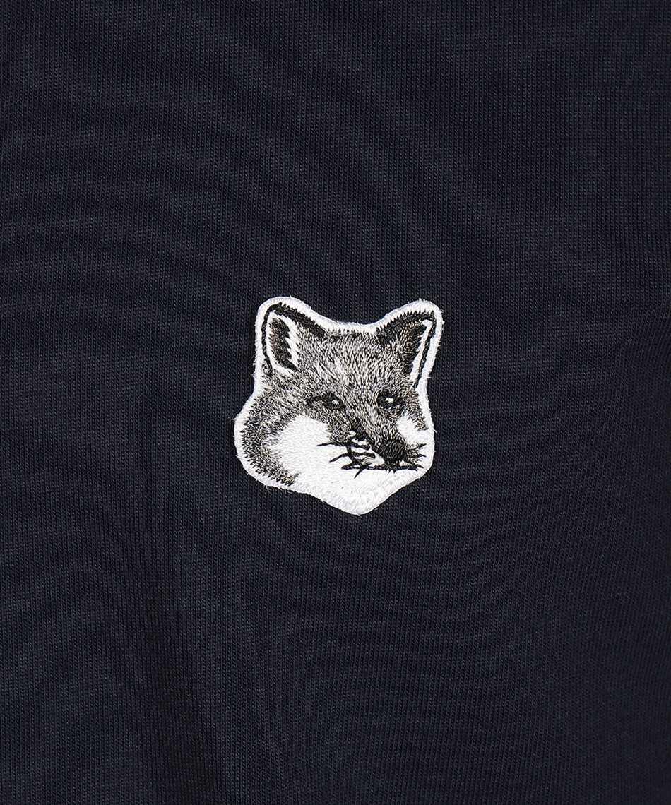Maison Kitsune GM00118KJ0008 GREY FOX HEAD PATCH CLASSIC Tričko 3