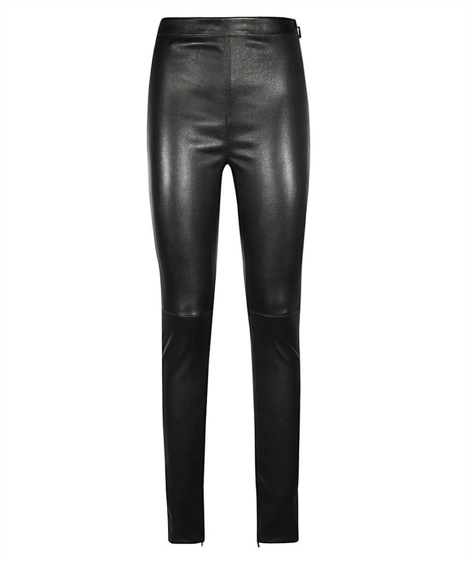 Saint Laurent 640153 Y5RH2 HIGH-RISE STRETCH Trousers 1