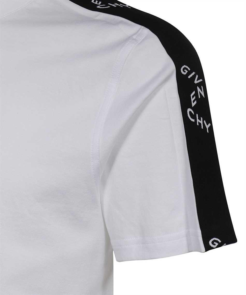 Givenchy BM71193002 LOGO TAPE T-shirt 3