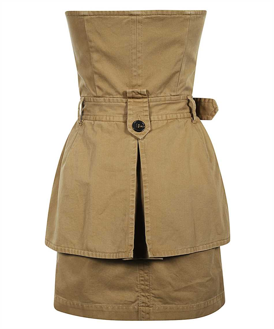 Dsquared2 S72CV0137 S52994 DECONSTRUCTED TRENCH Dress 2