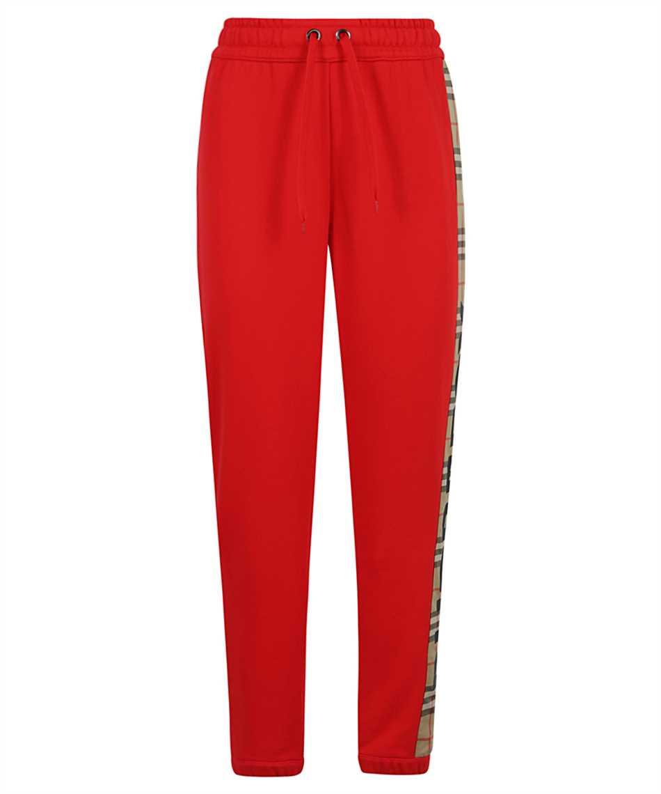 Burberry 8024955 VINTAGE CHECK PANEL COTTON JOGGING Trousers 1