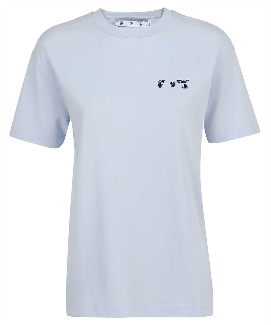 Off-White OWAA089S21JER005 OW LOGO REG T-shirt 1