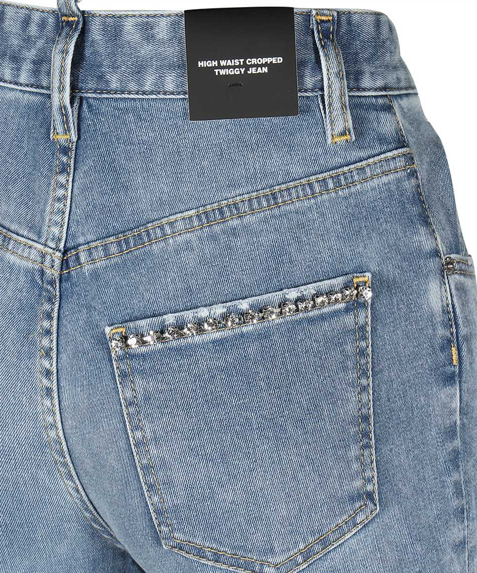 Dsquared2 S75LB0470 S30595 HIGH WAIST CROPPED TWIGGY Jeans 3