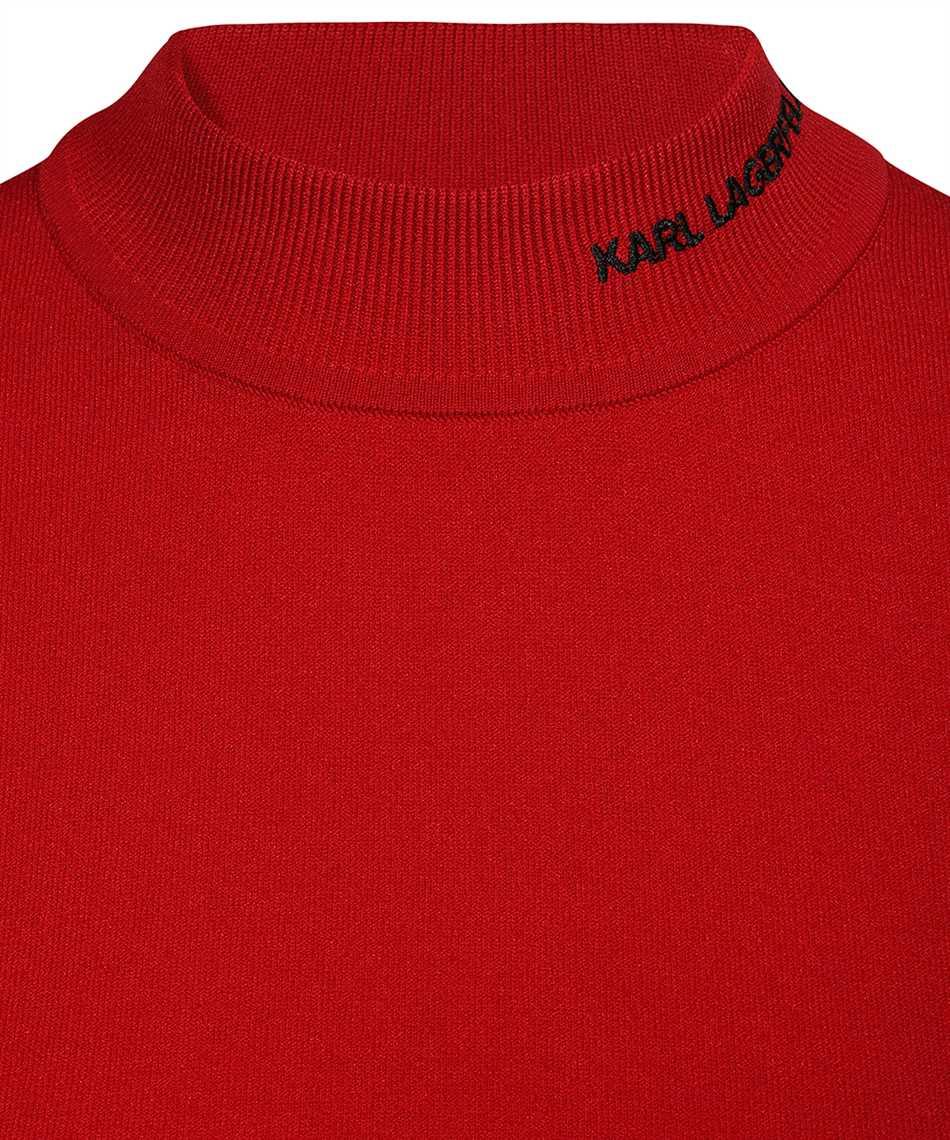 Karl Lagerfeld 216W2010 KARL LOGO MOCK-NECK Knit 3
