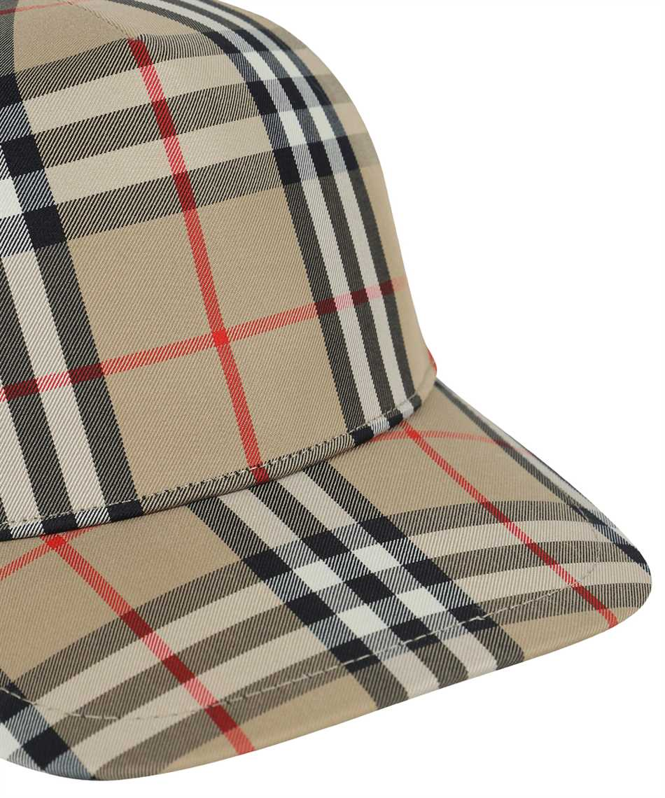 Burberry 8026929 LOGO APPLIQUÉ VINTAGE CHECK BASEBALL Cap 3