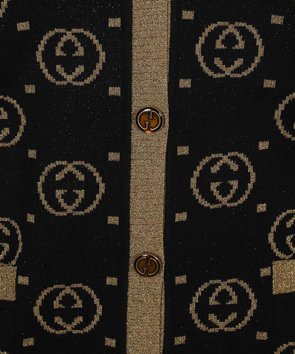 Gucci 555014 XKAH9 GG MOTIF Kardigán 3