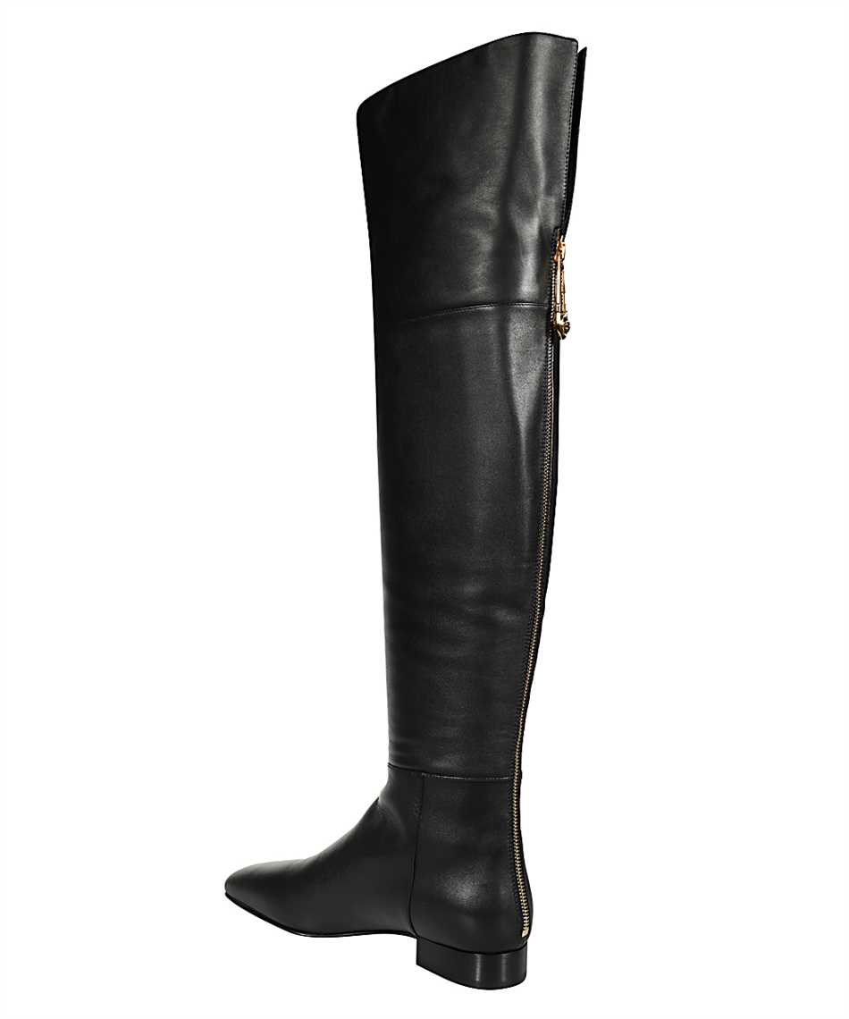 Versace DST473E DV11N SAFETY PIN FLAT Boots 3