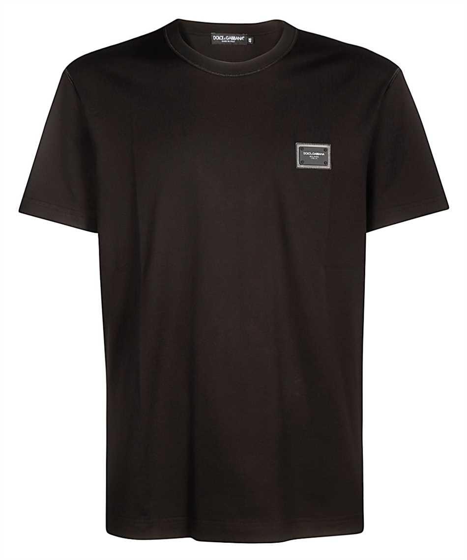 Dolce & Gabbana G8KJ9T FU7EQ LOGOED PLAQUE T-shirt 1