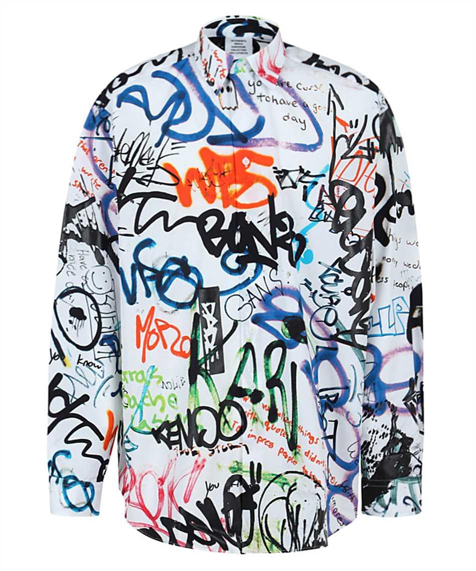 Vetements UE51SH900W ALL-OVER GRAFFITI Shirt 1