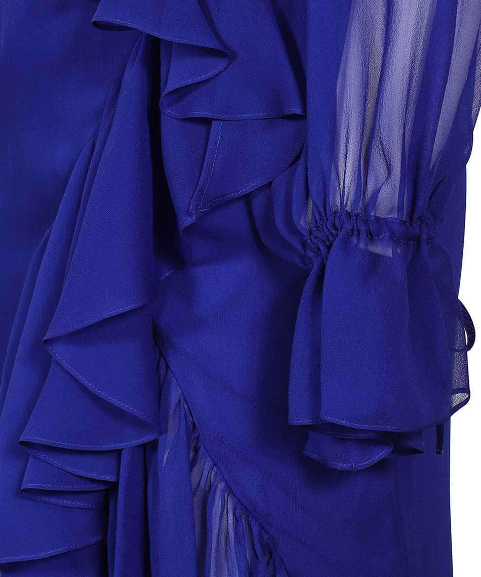 Saint Laurent 633941 Y115W RUFFLED WRAP Kleid 3