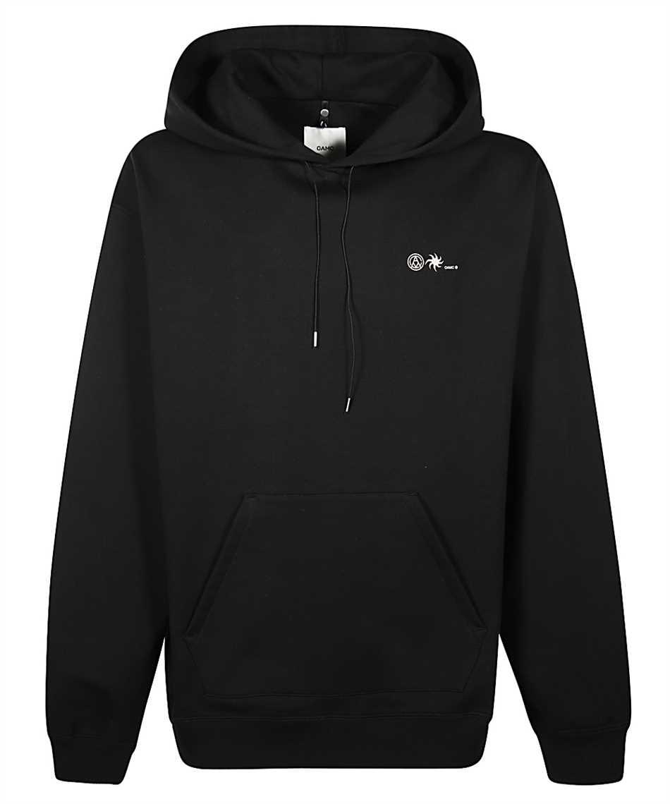 OAMC OAMR705782 OR243708A FUNDAMENT Kapuzen-Sweatshirt 1