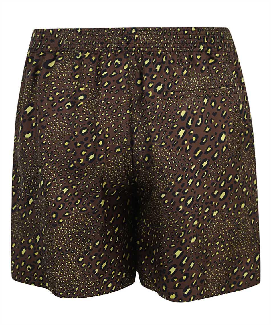 Versace A84097 1F00719 BAROCCO MOSAIC PRINT SILK Shorts 2