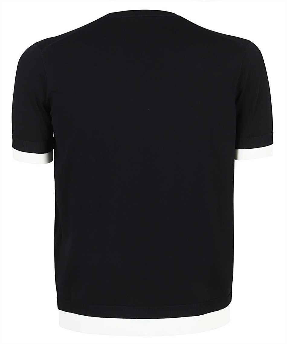 Neil Barrett PBMA1153E Q601 TRAVEL TECNO KNIT T-Shirt 2