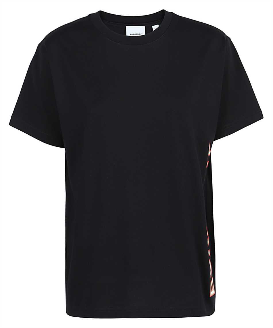Burberry 8037382 LOGO PRINT COTTON OVERSIZED T-shirt 1