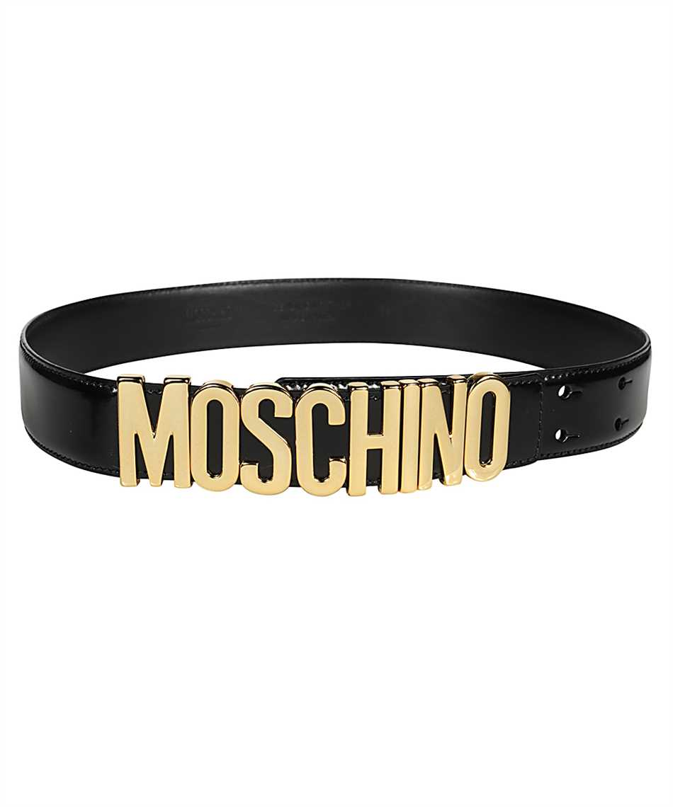 Moschino A8012 8007 LETTERING LOGO Belt 1