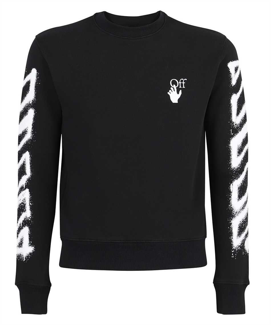 Off-White OMBA025S21FLE004 SPRAY MARKER SLIM CREWNECK Sweatshirt 1