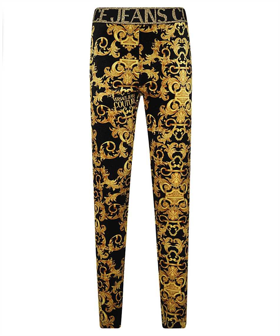 Versace Jeans Couture D5HWA101 S0034 VELVET BAROQE PRINT Nohavice 1
