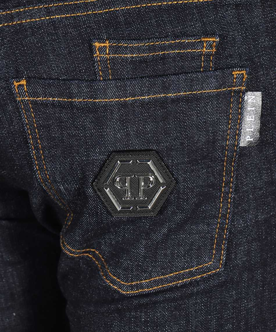 Philipp Plein F20C MDT2281 PDE004N SUPER STRAIGHT Jeans 3