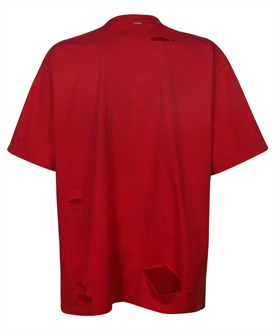 Balenciaga 651795 TKVB8 CAPS DESTROYED FLATGROUND T-shirt 2