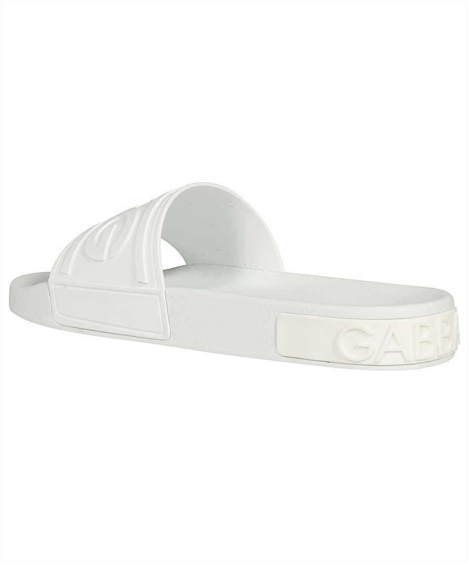 Dolce & Gabbana CS1786 AX389 RUBBER BEACHWEAR WITH D&G LOGO Slides 3