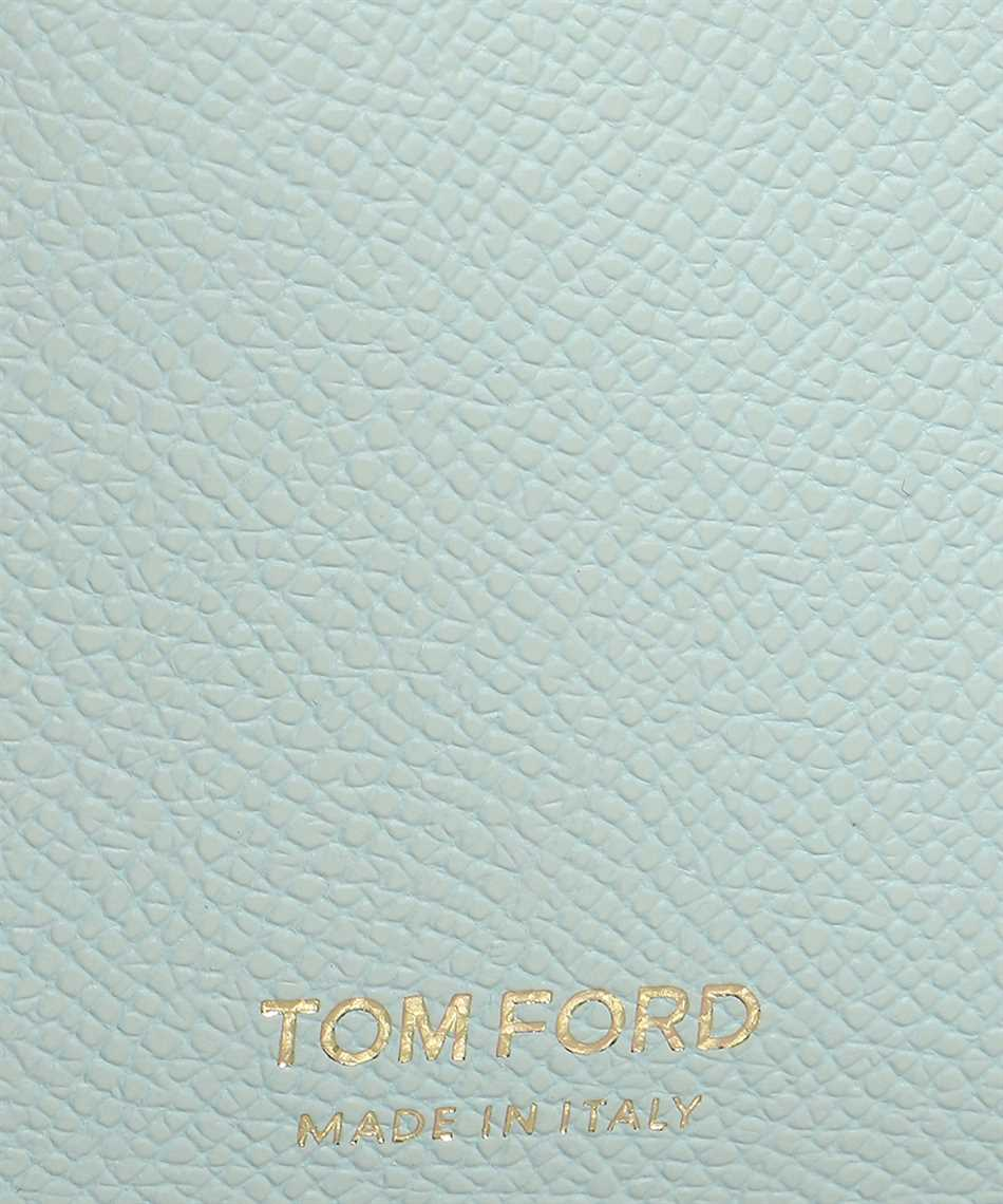 Tom Ford Y0313T LCL081 SMALL ZIP NECK STRAP Wallet 3