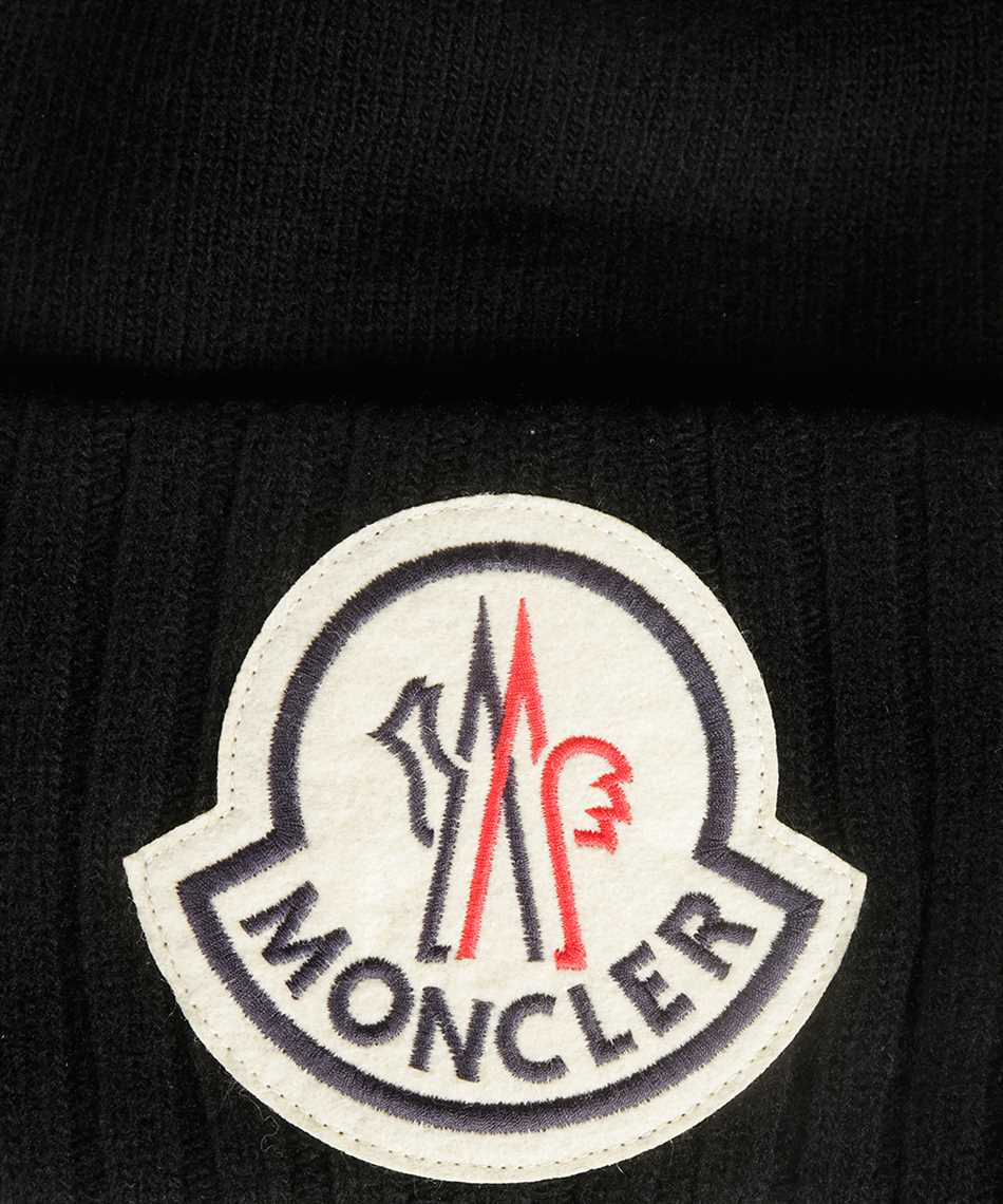 Moncler 99262.00 A9186 LOGO EMBROIDERED Beanie 3