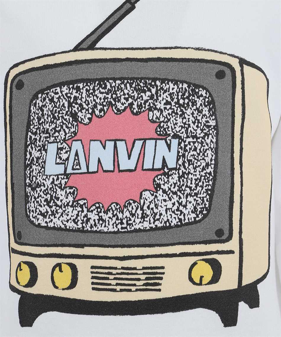 Lanvin RM-JE0067 JR19 H20 PRINTED Mikina 3