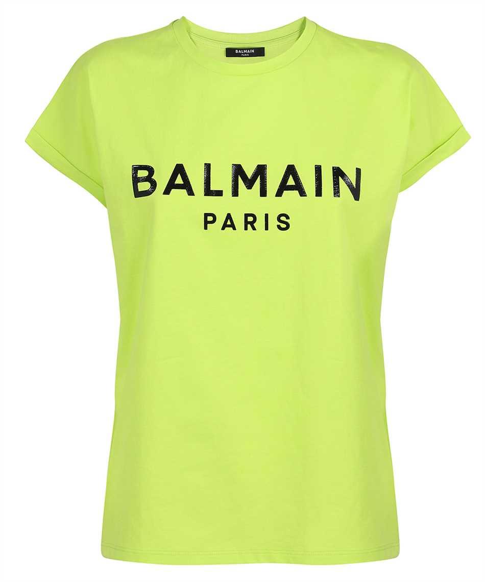 Balmain VF0EF010B035 PRINTED LOGO T-shirt 1