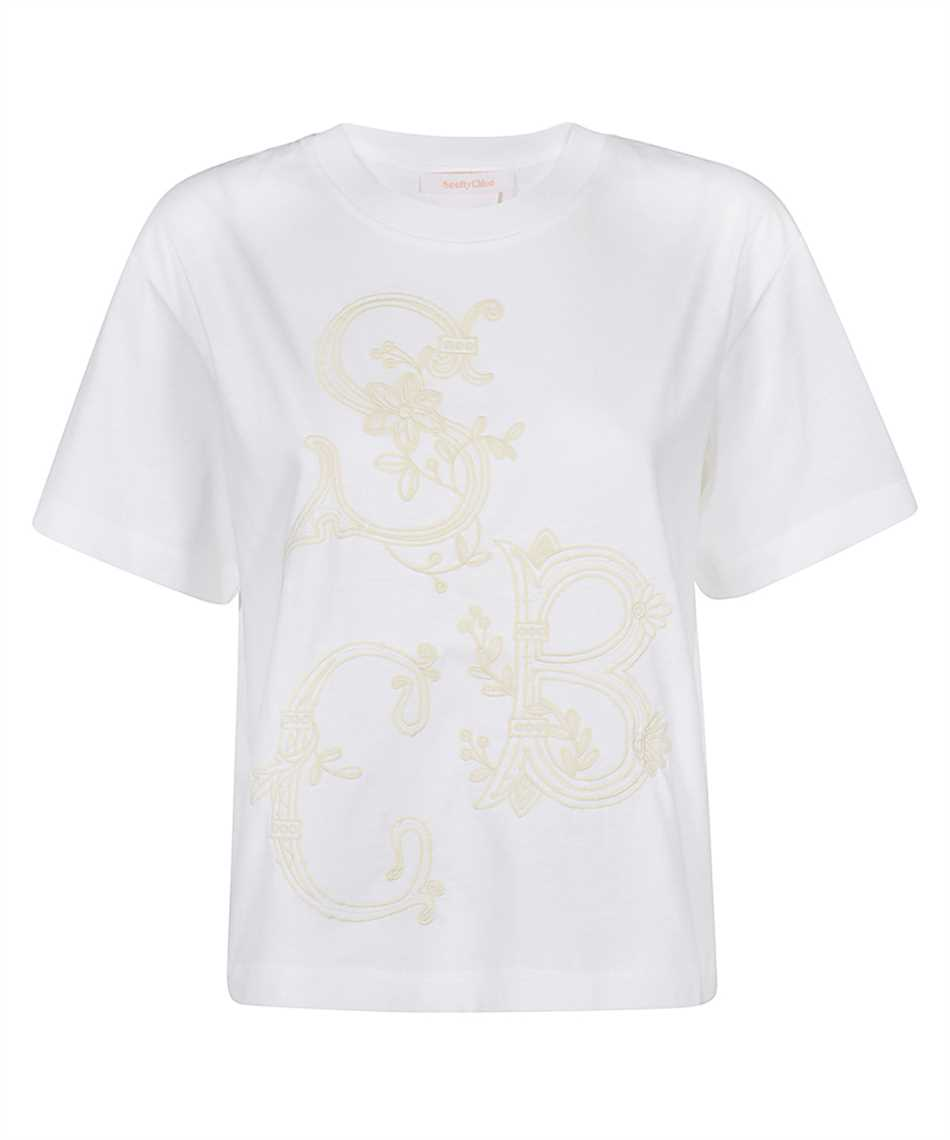 See By Chloè CHS21SJH37081 EMBROIDERED T-Shirt 1