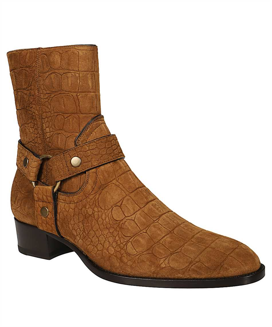 Saint Laurent 603515 1Y201 WYATT 40 Stiefel 2