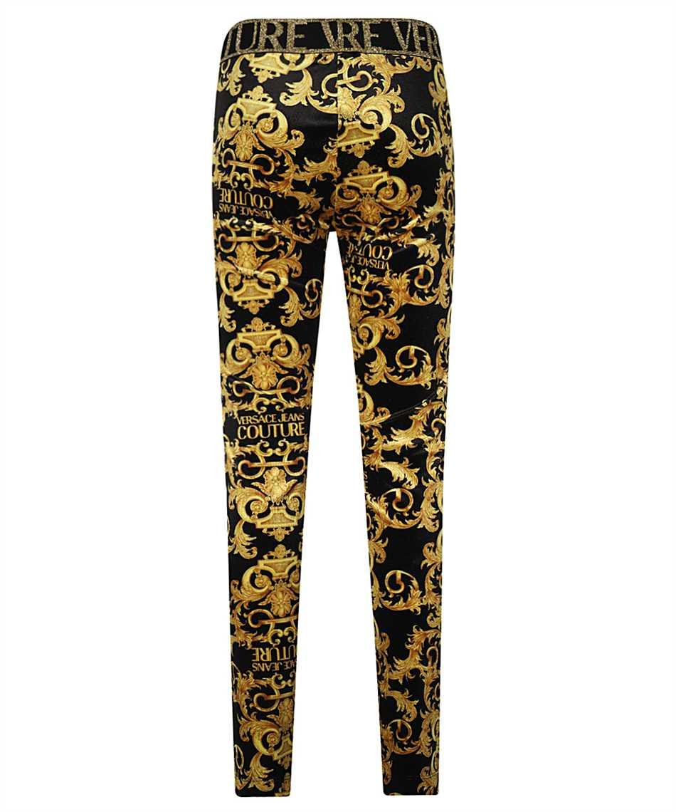 Versace Jeans Couture D5HWA101 S0034 VELVET BAROQE PRINT Nohavice 2