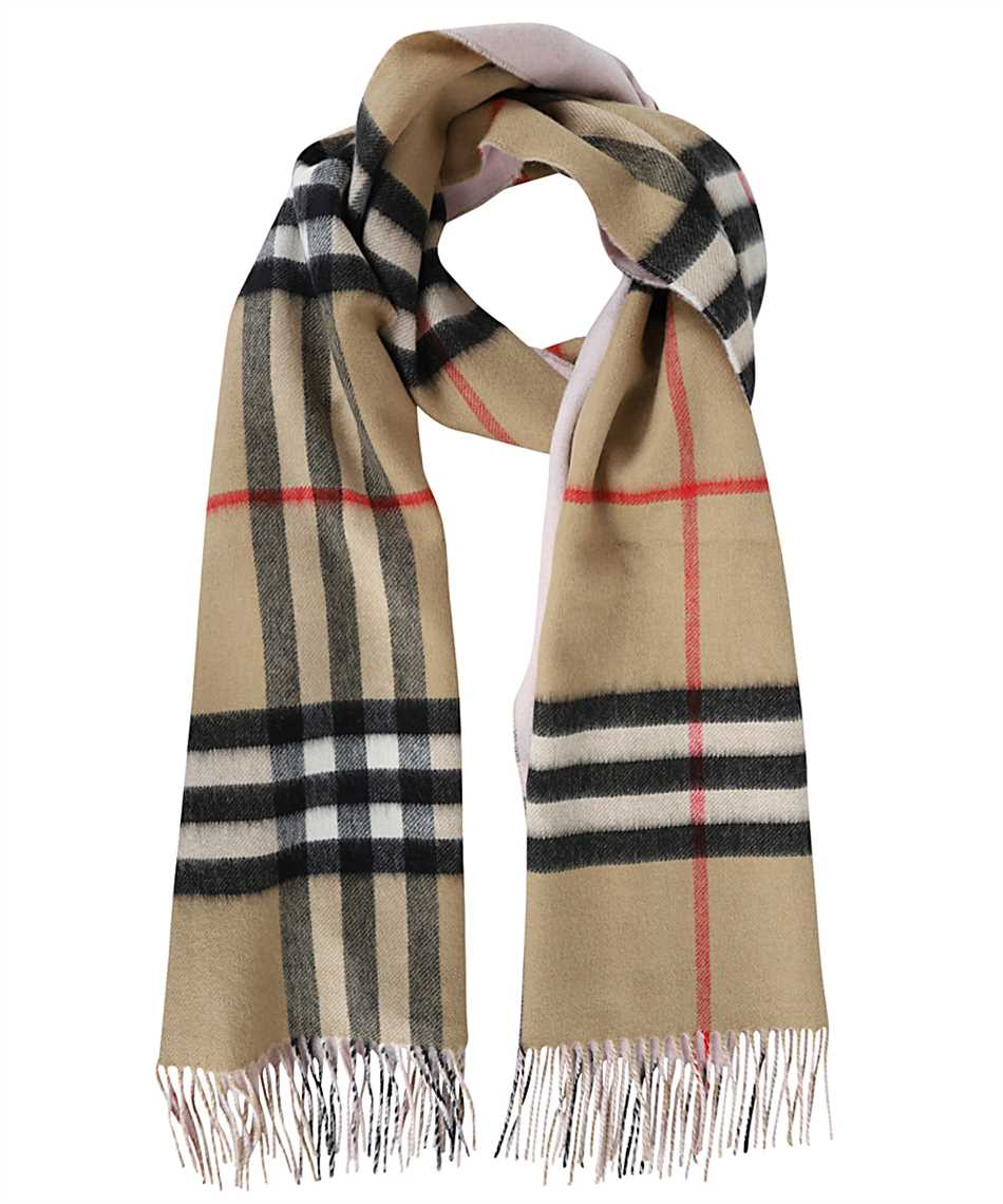 Burberry 8035912 REVERSIBLE CHECK CASHMERE Scarf 1