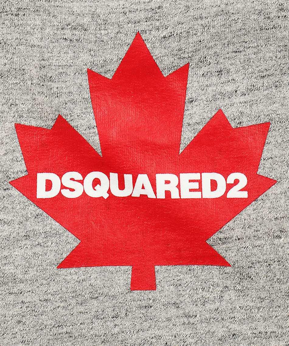 Dsquared2 SSP0001 16803643 D2 x POLDO RED LEAF Mikina 3