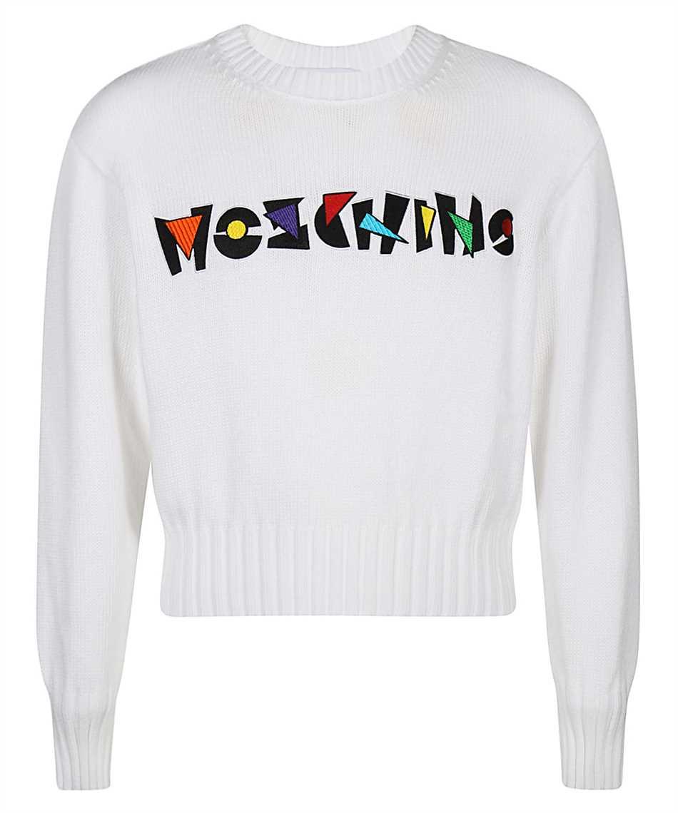 Moschino A0912 2001 GEOMETRIC LOGO Knit 1