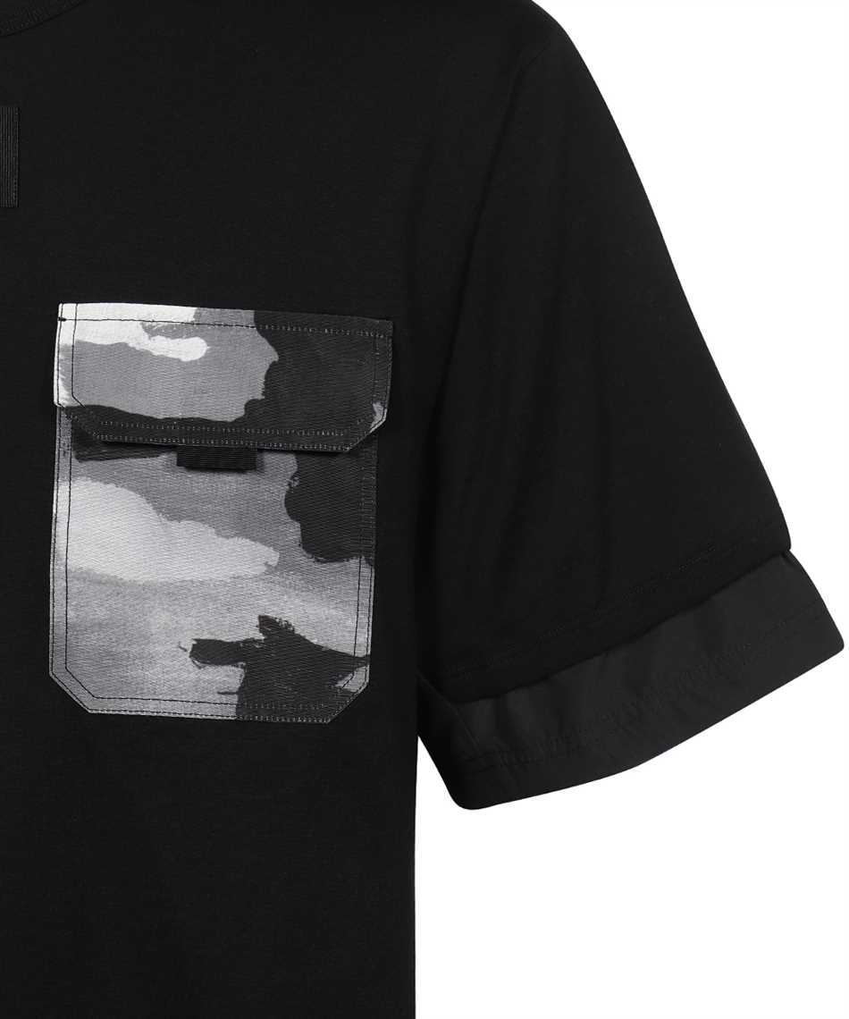 Dolce & Gabbana G8MV0Z G7YJR CAMOUFLAGE-PRINT POCKET T-shirt 3