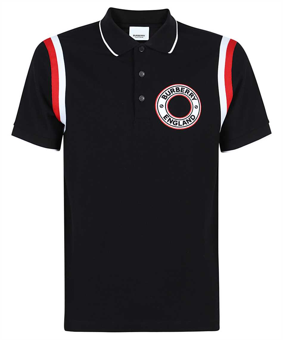 Burberry 8035408 LOGO GRAPHIC APPLIQUÉ COTTON PIQUÉ Polo 1