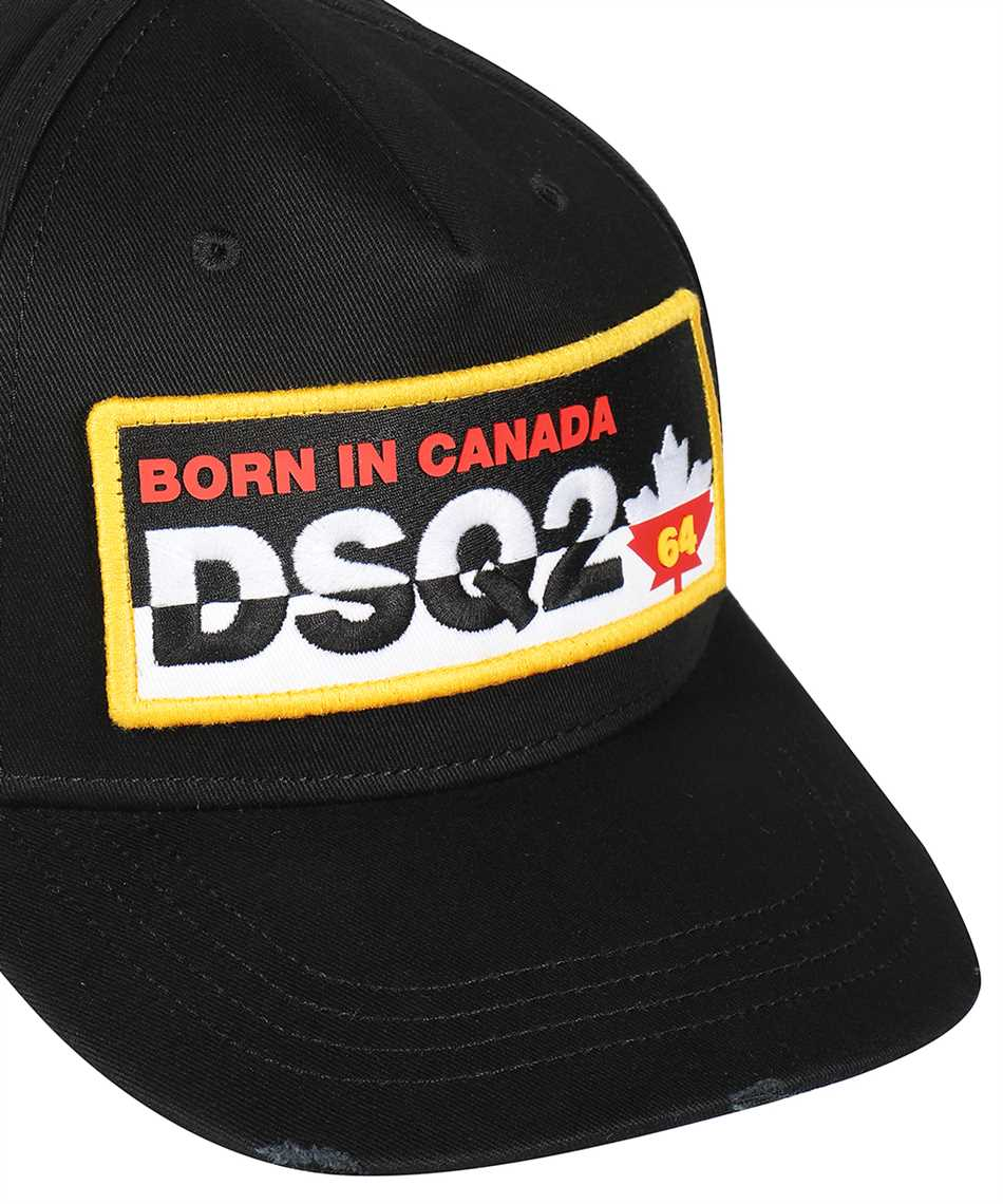 Dsquared2 BCM0356 05C00001 Čiapka 3