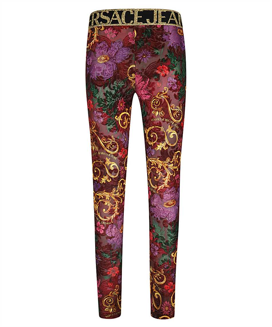 Versace Jeans Couture D5HZB161 S0958 PRINT Nohavice 1