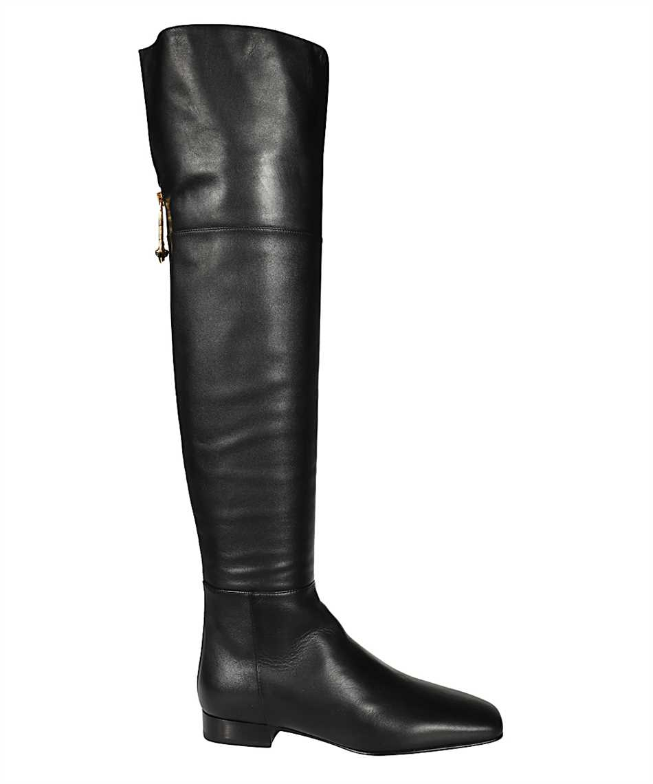 Versace DST473E DV11N SAFETY PIN FLAT Boots 1