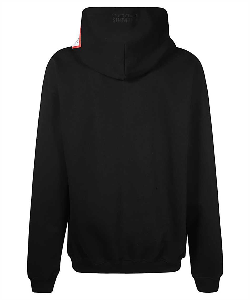Vetements UE51TR550B LOGO PATCH Kapuzen-Sweatshirt 2