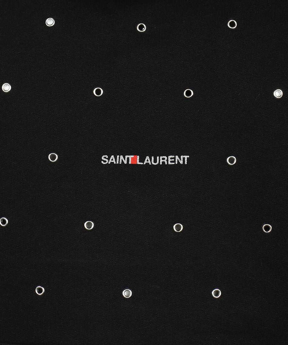 Saint Laurent 632418 YBQZ2 EYELETS Hoodie 3