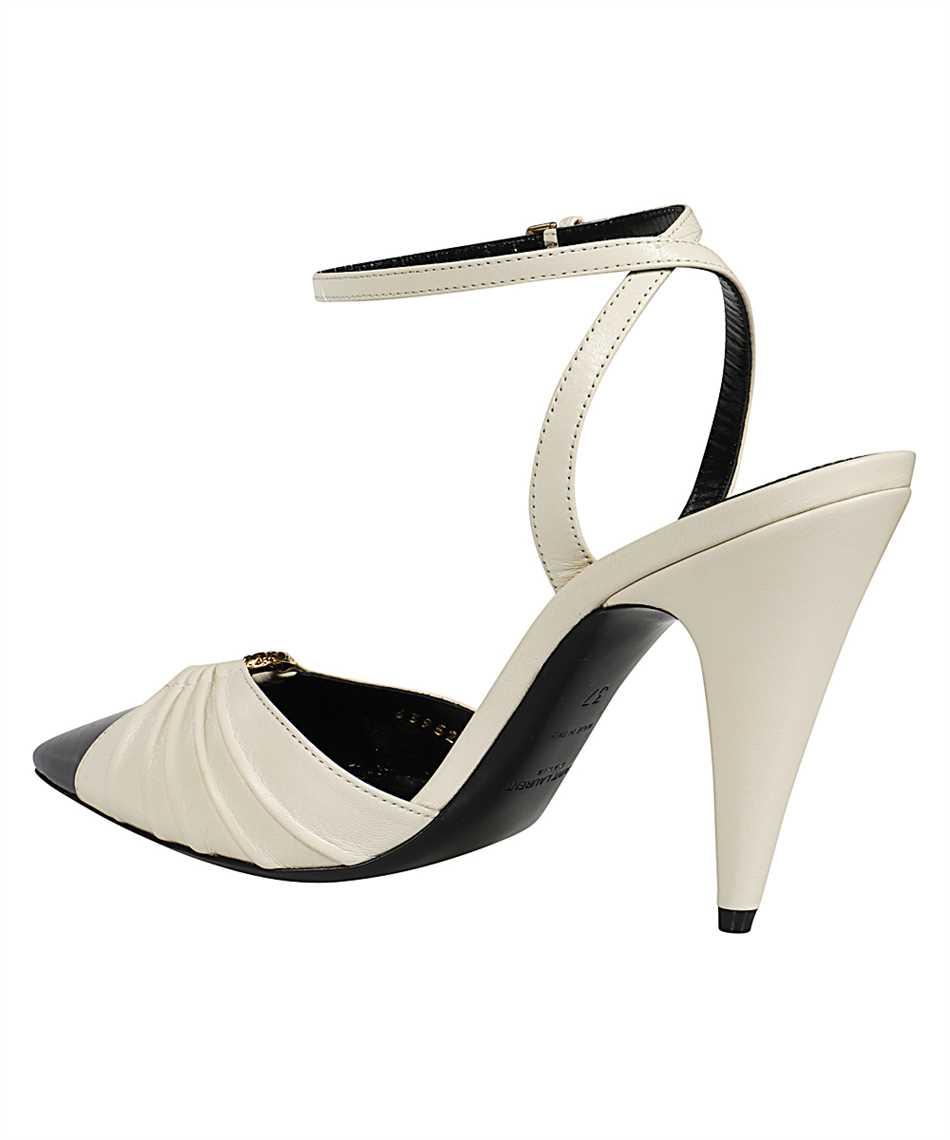 Saint Laurent 639528 1ZJ10 DIANE 95 RING Sandále 3