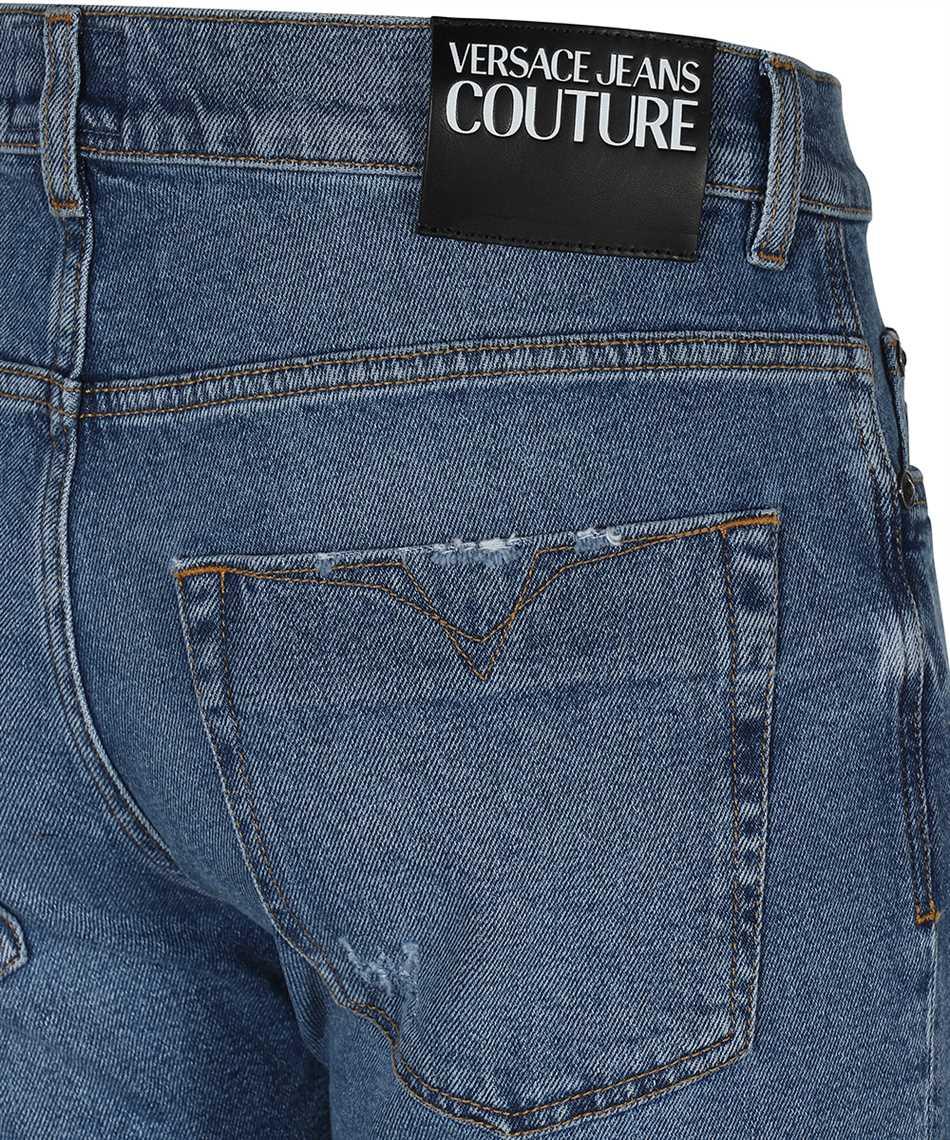 Versace Jeans Couture A4GWA177 AR883 DENIM Krátke nohavice 3