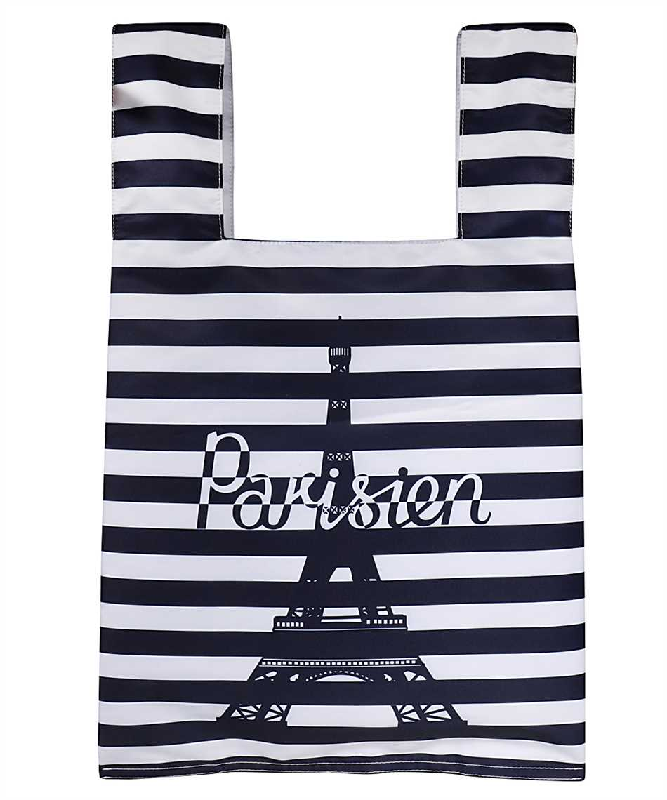 Maison Kitsune GU06125WQ40008 PARISIEN TOWER STRIPES NYLON Bag 1